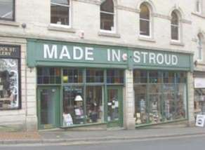 Made in Stroud shop selling locally made goods